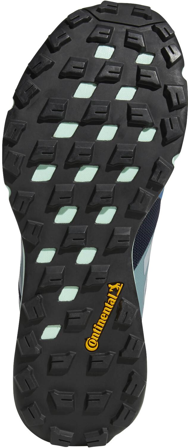 adidas TERREX Two GTX Trailrunning Schoenen Dames, legend inkcrystal whitebright blue